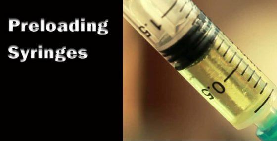 Preloading Syringes